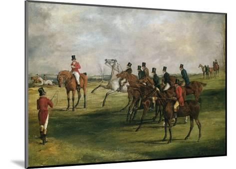 At the Start-Henry Thomas Alken-Mounted Giclee Print