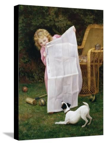 Behind the Times-William Henry Gore-Stretched Canvas Print