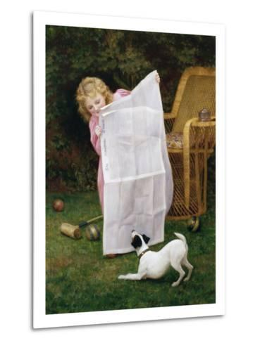Behind the Times-William Henry Gore-Metal Print