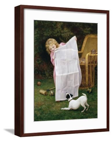 Behind the Times-William Henry Gore-Framed Art Print