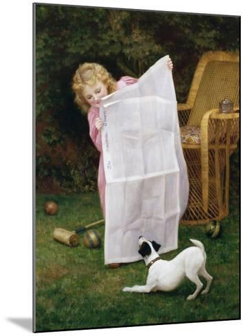Behind the Times-William Henry Gore-Mounted Giclee Print