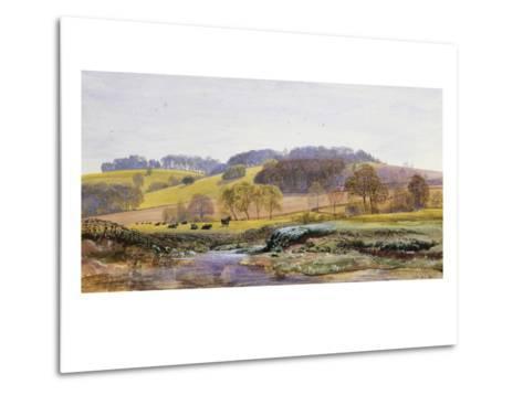 Springtime near Marden, Surrey, England-John Brett-Metal Print