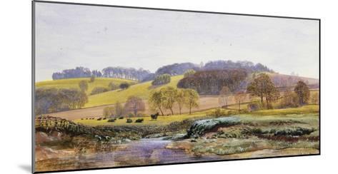 Springtime near Marden, Surrey, England-John Brett-Mounted Giclee Print