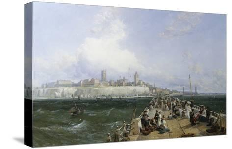 A View of Margate from the Pier-James Webb-Stretched Canvas Print