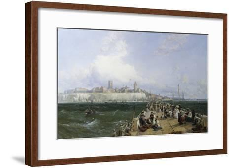 A View of Margate from the Pier-James Webb-Framed Art Print
