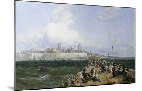 A View of Margate from the Pier-James Webb-Mounted Giclee Print