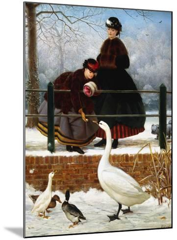 In the Park-George Dunlop Leslie-Mounted Giclee Print