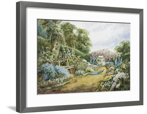 An English Country Garden-Henry Stannard-Framed Art Print