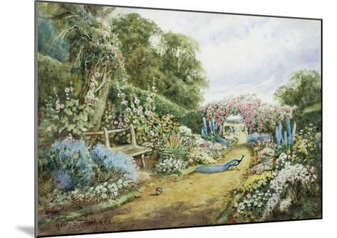 An English Country Garden-Henry Stannard-Mounted Giclee Print