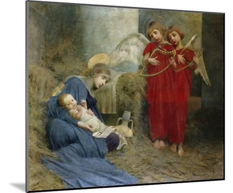Angels and Holy Child-Marianne Stokes-Mounted Giclee Print