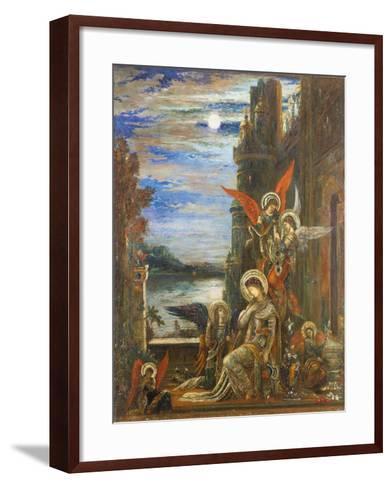Saint Cecilia-Gustave Moreau-Framed Art Print