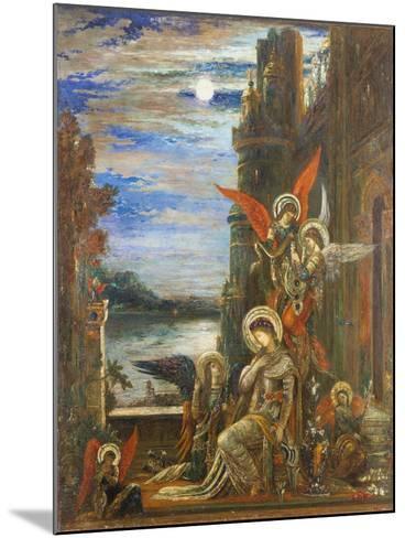 Saint Cecilia-Gustave Moreau-Mounted Giclee Print