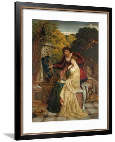 The Riven Shield-Philip Richard Morris-Framed Art Print