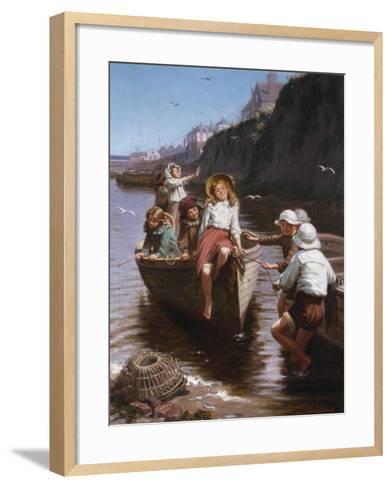 Safe in Harbour-Edwin Roberts-Framed Art Print