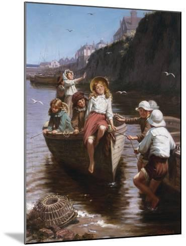 Safe in Harbour-Edwin Roberts-Mounted Giclee Print