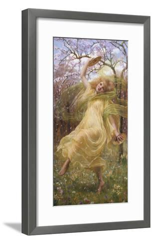 The Spirit of Spring-W^ Savage Cooper-Framed Art Print