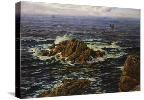 Land's End, Cornwall, England-John Brett-Stretched Canvas Print