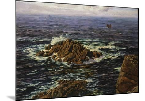 Land's End, Cornwall, England-John Brett-Mounted Giclee Print