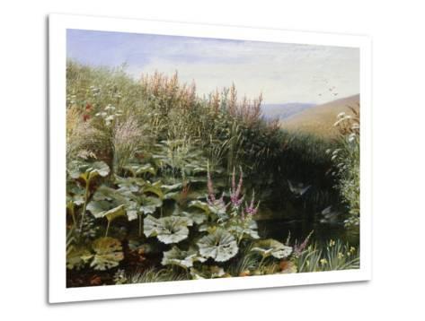 On the Riverbank-Robert Collinson-Metal Print