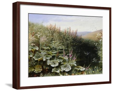 On the Riverbank-Robert Collinson-Framed Art Print