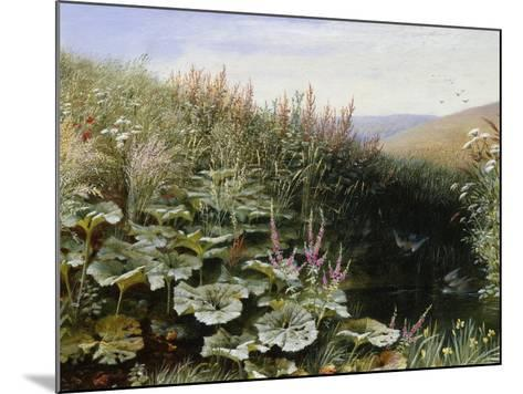 On the Riverbank-Robert Collinson-Mounted Giclee Print