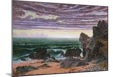 Sunset over the Sea-William Bell Scott-Mounted Giclee Print