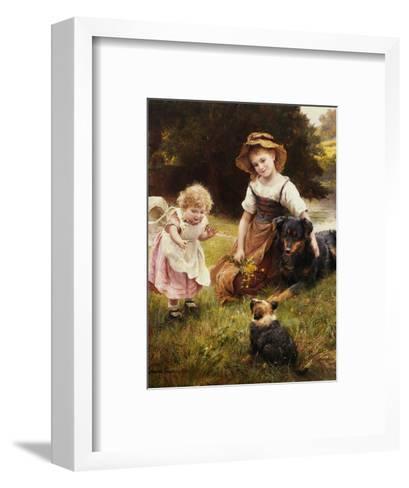 Clean as a New Pin-George Hillyard Swinstead-Framed Art Print