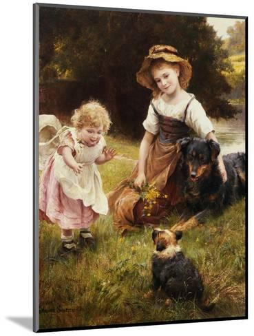 Clean as a New Pin-George Hillyard Swinstead-Mounted Giclee Print
