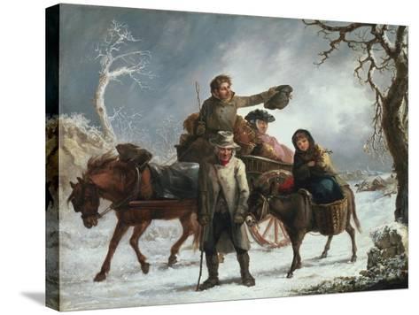 Christmas Eve-John Joseph Barker-Stretched Canvas Print