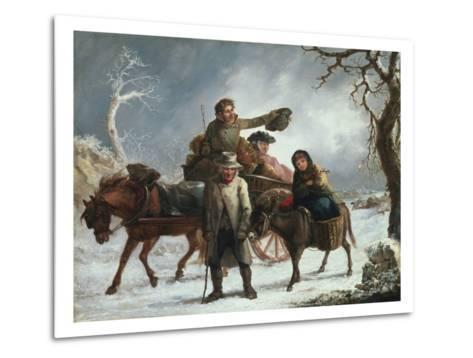Christmas Eve-John Joseph Barker-Metal Print