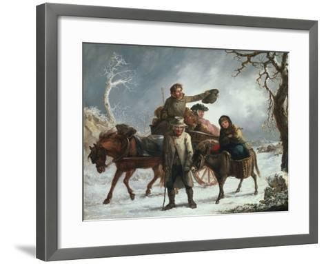 Christmas Eve-John Joseph Barker-Framed Art Print