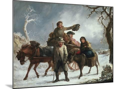 Christmas Eve-John Joseph Barker-Mounted Giclee Print
