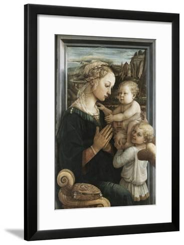 Madonna and Child with Angels-Filippo Lippi-Framed Art Print