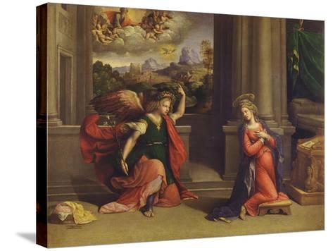 Annunciation-Benvenuto Tisi Da Garofalo-Stretched Canvas Print