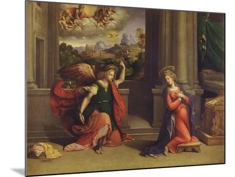 Annunciation-Benvenuto Tisi Da Garofalo-Mounted Giclee Print