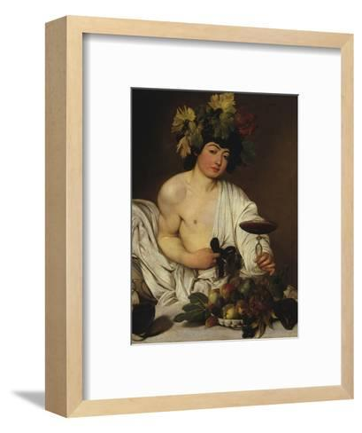 Bacchus-Caravaggio-Framed Art Print