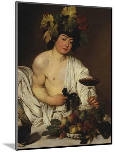 Bacchus-Caravaggio-Mounted Giclee Print