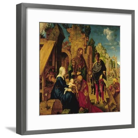 Adoration of the Magi-Albrecht D?rer-Framed Art Print