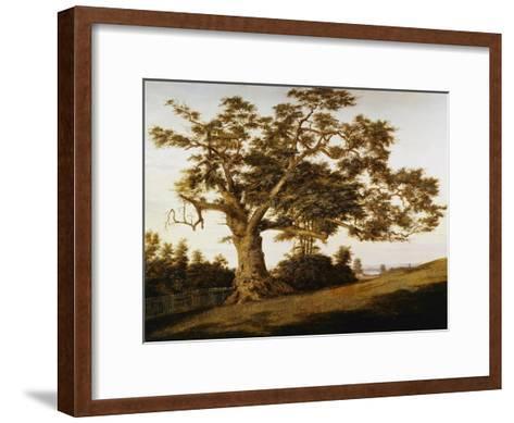 The Charter Oak-Charles de Wolfe Brownell-Framed Art Print