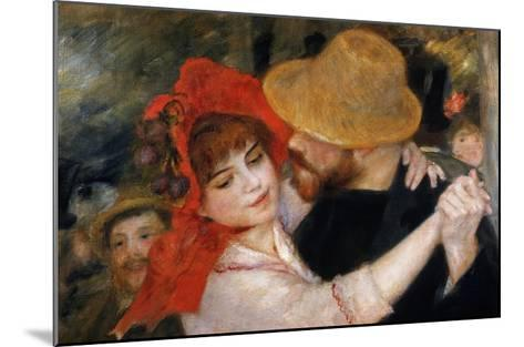 Detail of Dancing Couple from Le Bal a Bougival-Pierre-Auguste Renoir-Mounted Giclee Print