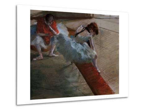 Dancers Resting-Edgar Degas-Metal Print