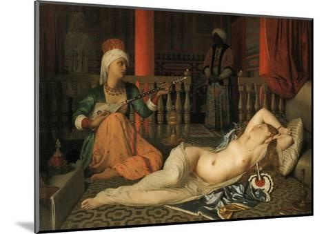 Odalisque with a Slave-Jean-Auguste-Dominique Ingres-Mounted Giclee Print