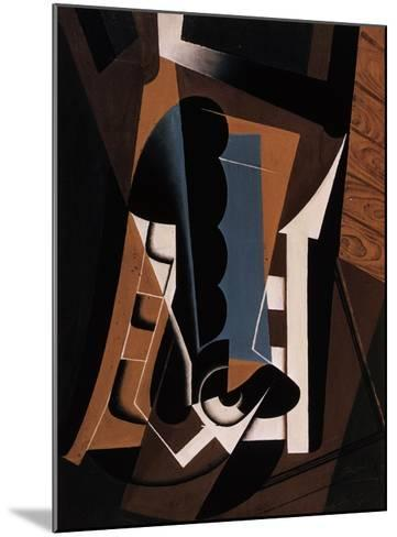 Still Life on a Chair-Juan Gris-Mounted Giclee Print