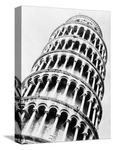 Leaning Tower of Pisa from Below-Bettmann-Stretched Canvas Print