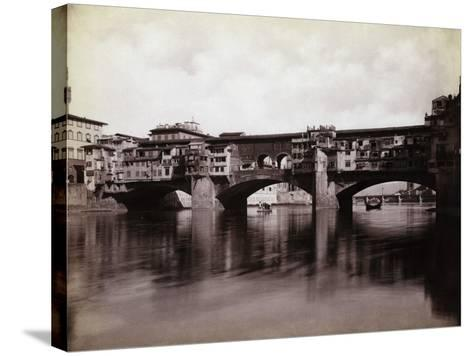 Ponte Vecchio over the River Arno in Florence-Bettmann-Stretched Canvas Print