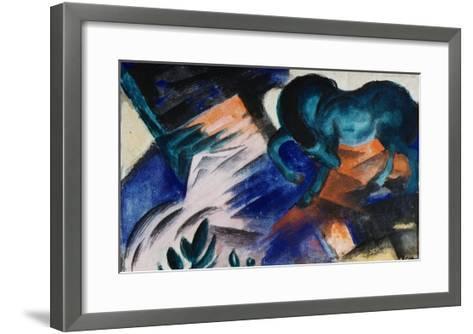 The Green Horse-Franz Marc-Framed Art Print