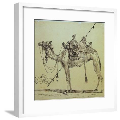 Camel-Rodolphe Bresdin-Framed Art Print