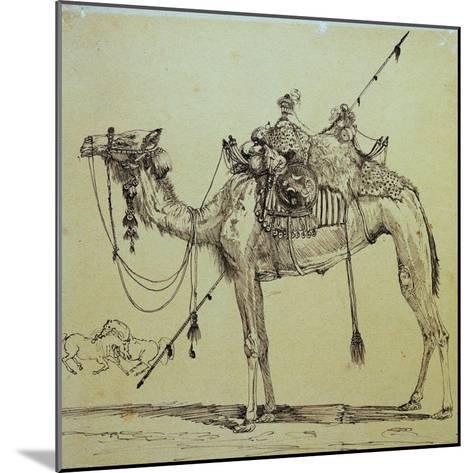 Camel-Rodolphe Bresdin-Mounted Giclee Print