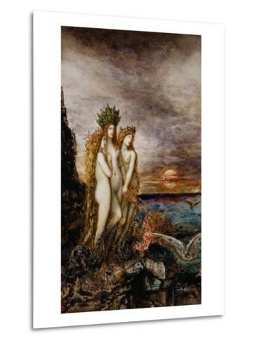 The Sirens-Gustave Moreau-Metal Print