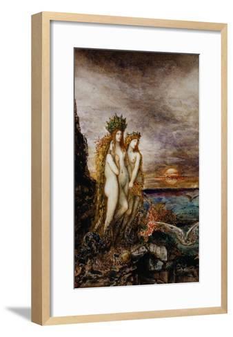 The Sirens-Gustave Moreau-Framed Art Print